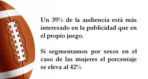 audiencia más interesada en publicidad