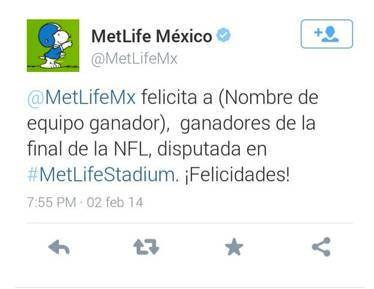 Tuit Metlife wrong