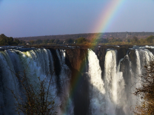 """""""Cataratas Victoria- Vista desde Zimbawe"""" por Alicia Rodríguez Ruiz"""