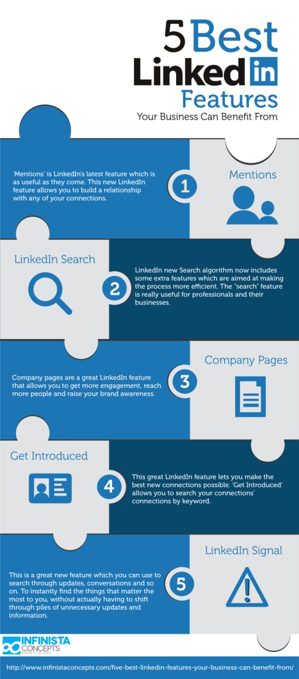 5 Best LinkedIn features